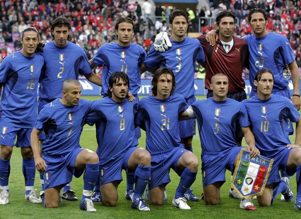 عکس های ماندگار (37): تیم ملی ایتالیا در جام جهانی 2006