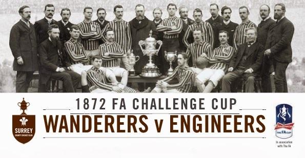 اولین فینال تاریخ فوتبال، اولین جام و اولین برندگان