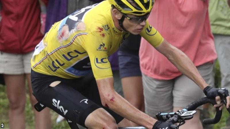 تور دو فرانس 2016؛ نتایج روز نوزدهم؛ کریس فروم تصادف کرد و باردت پیروز شد