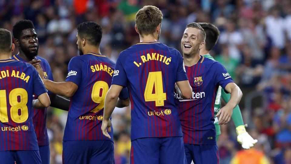 بارسلونا - لالیگا - پیش فصل بارسلونا - چاپه کوئنسه - جام خوان گمپر - چاپه کوئنسه