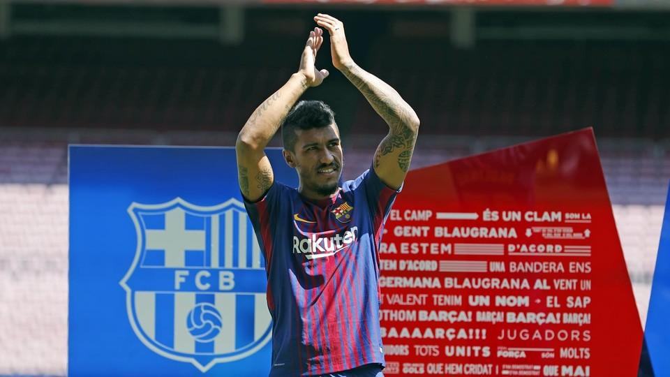بارسلونا - نقل و انتقالات بارسلونا - لالیگا-  Paulinho