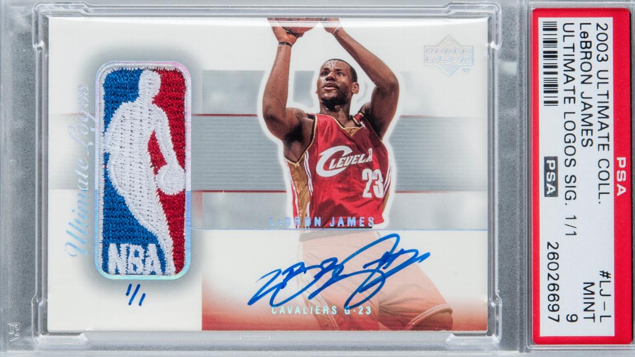 بسکتبال NBA؛ فروش کارت روکی لبران جیمز با قیمت 312000 دلار