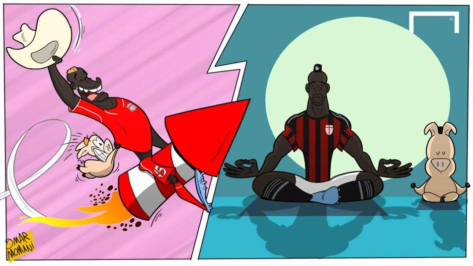 کاریکاتور جدید عمرمومانی : بالوتلی مرد جدید