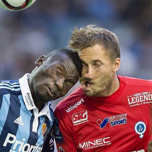 یکی از عجیب ترین تصاویر فوتبال