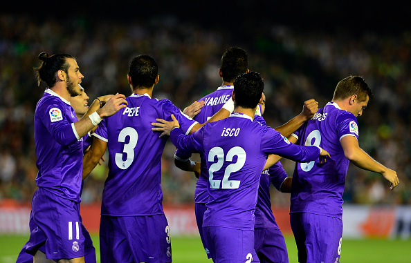 رئال بتیس 1 - 6 رئال مادرید؛ آتش بازی در سویل
