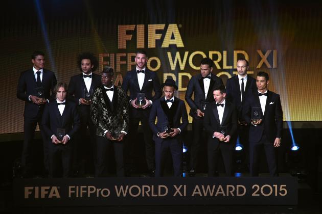 گران ترین ترکیب دنیا؛ بازیکنان دنیا در قابی از اسکناس