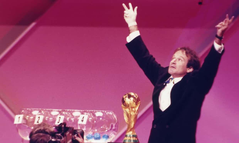 Robin williams - قرعه کشی جام جهانی ۹۴