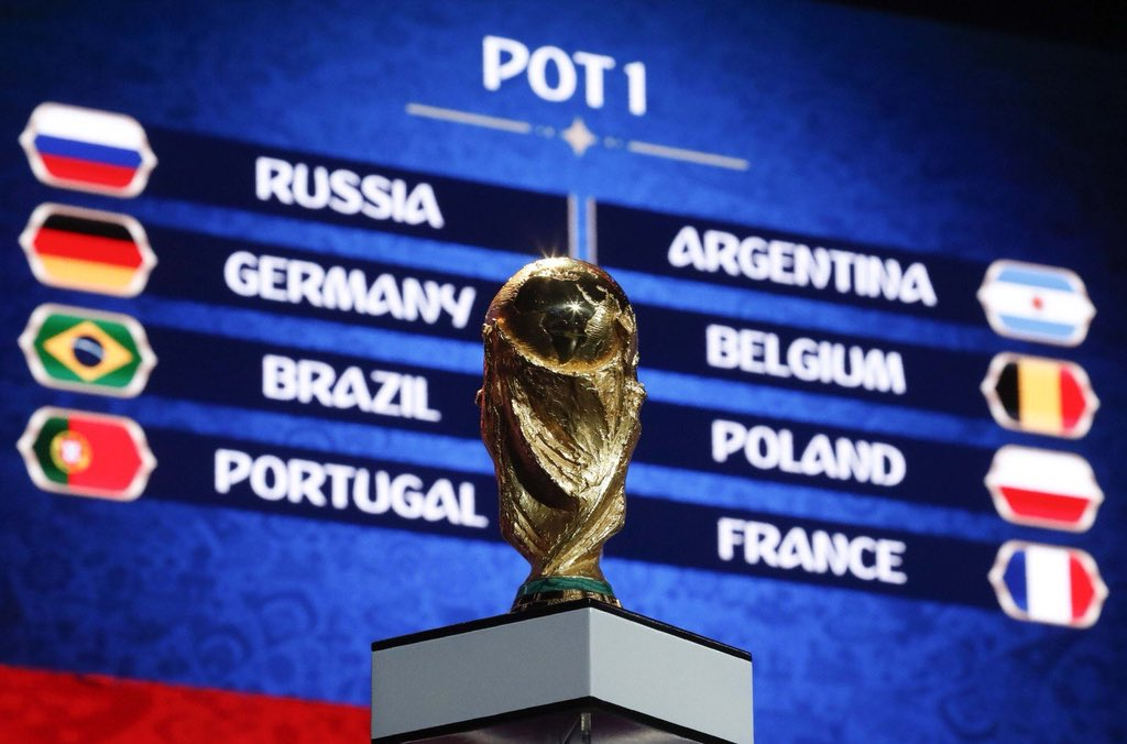 2018 world cup draw - روسیه