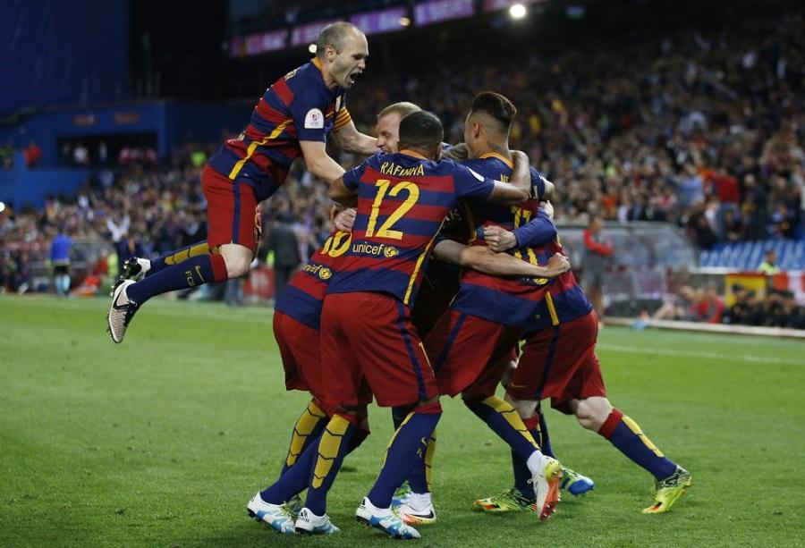 بارسلونا 2-0 سویا؛ تاج گذاری کاتالان ها در مادرید با دبل در این فصل فوتبال اسپانیا