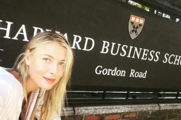 ماریا شاراپووا به برای تحصیل به هاروارد می رود!