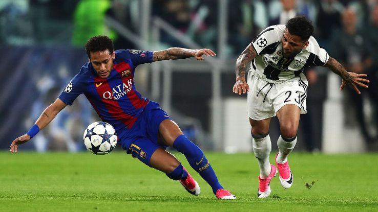 یک چهارم نهایی لیگ قهرمانان اروپا-بارسلونا-یوونتوس