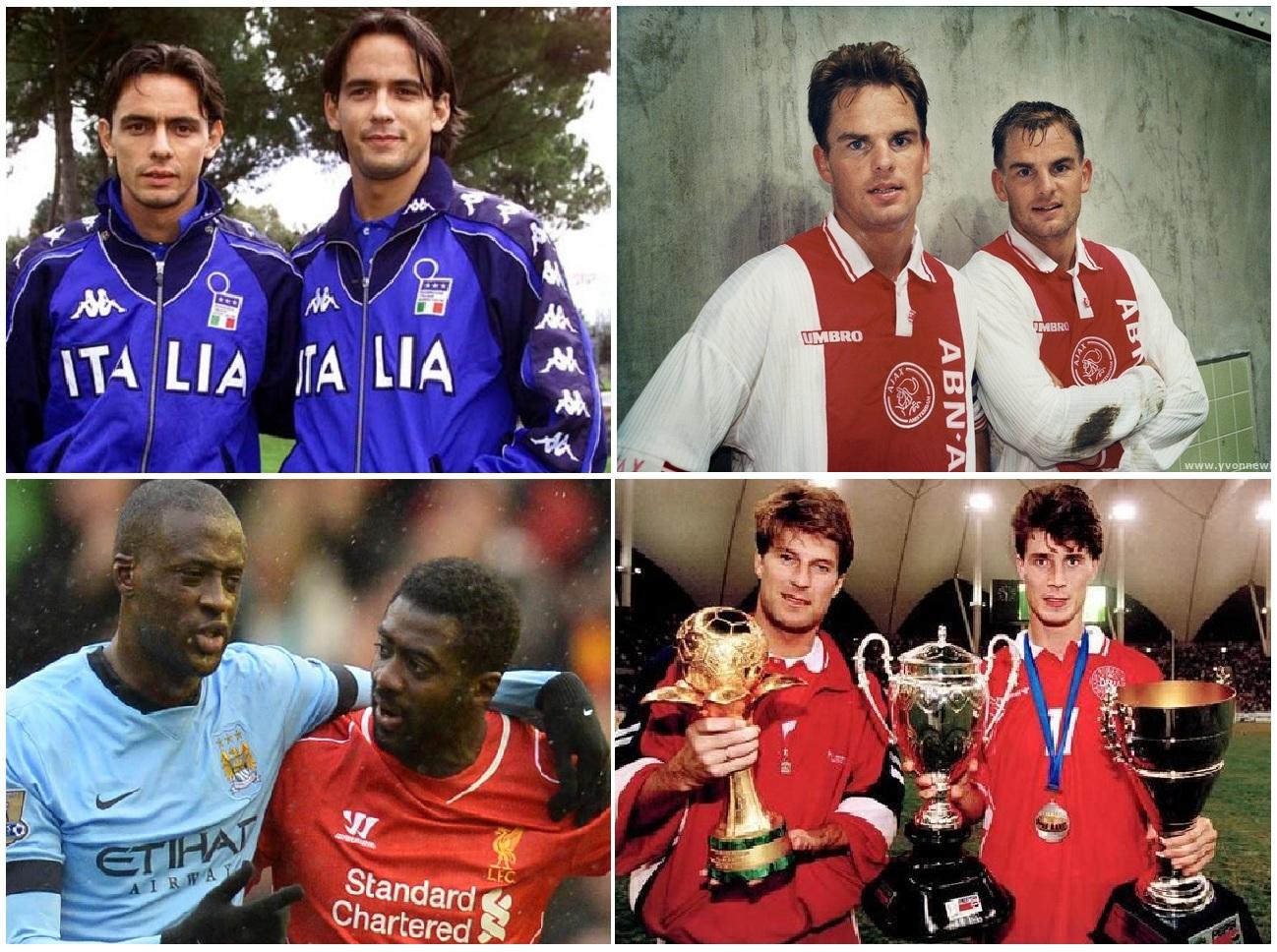 موفق ترین برادران فوتبالیست