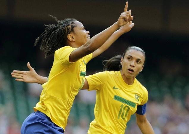 المپیک ریو 2016؛ فوتبال بانوان؛ پیروزی پر گل سلسائو برابر سوئد