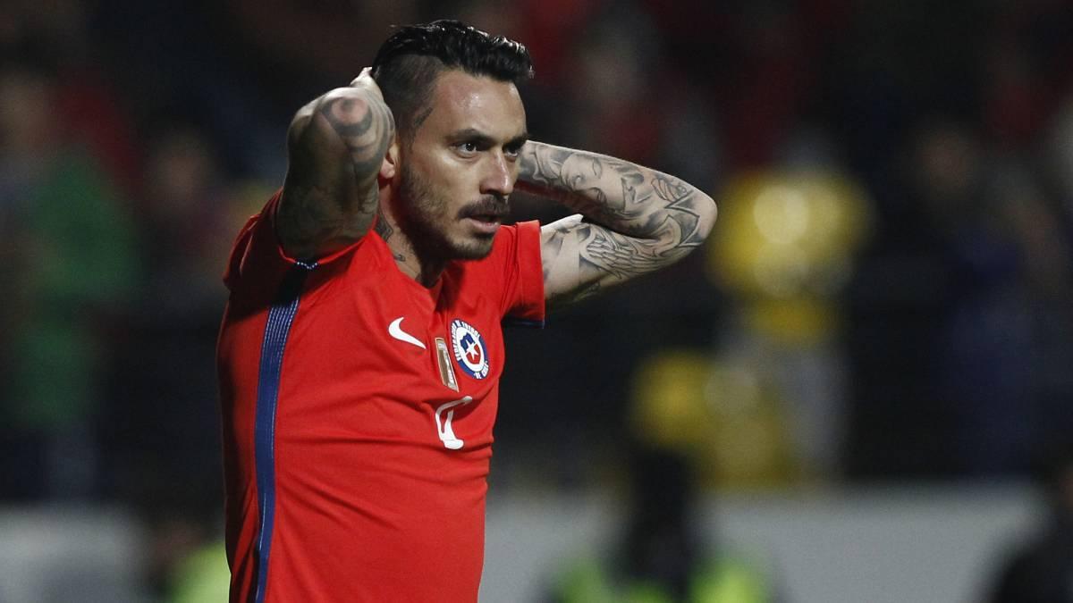 مهاجم شیلیایی جنوا - شیلی - جام کنفدراسیونها 2017