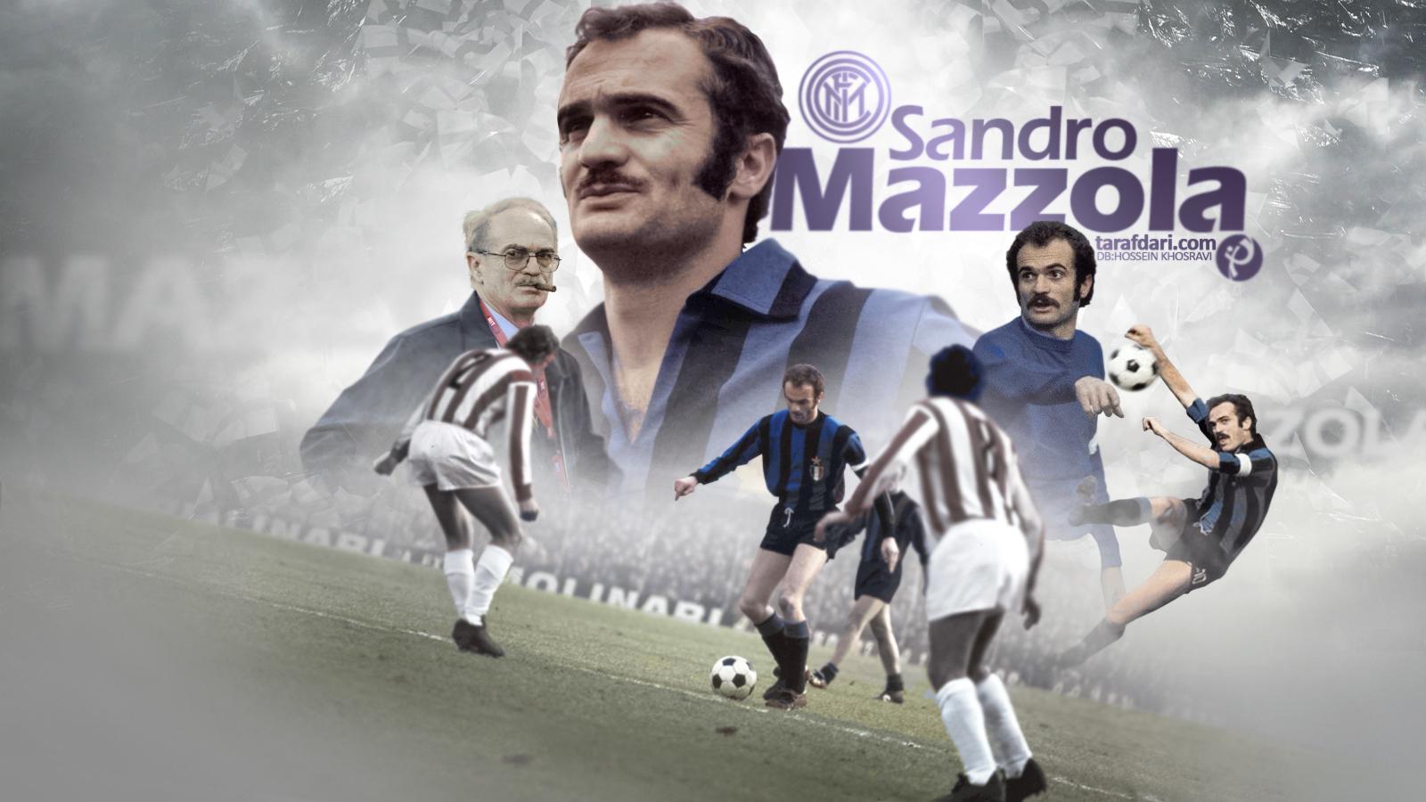 پوستر اختصاصی طرفداری؛ به مناسبت تولد ساندرو مازولا، اسطوره باشگاه اینتر