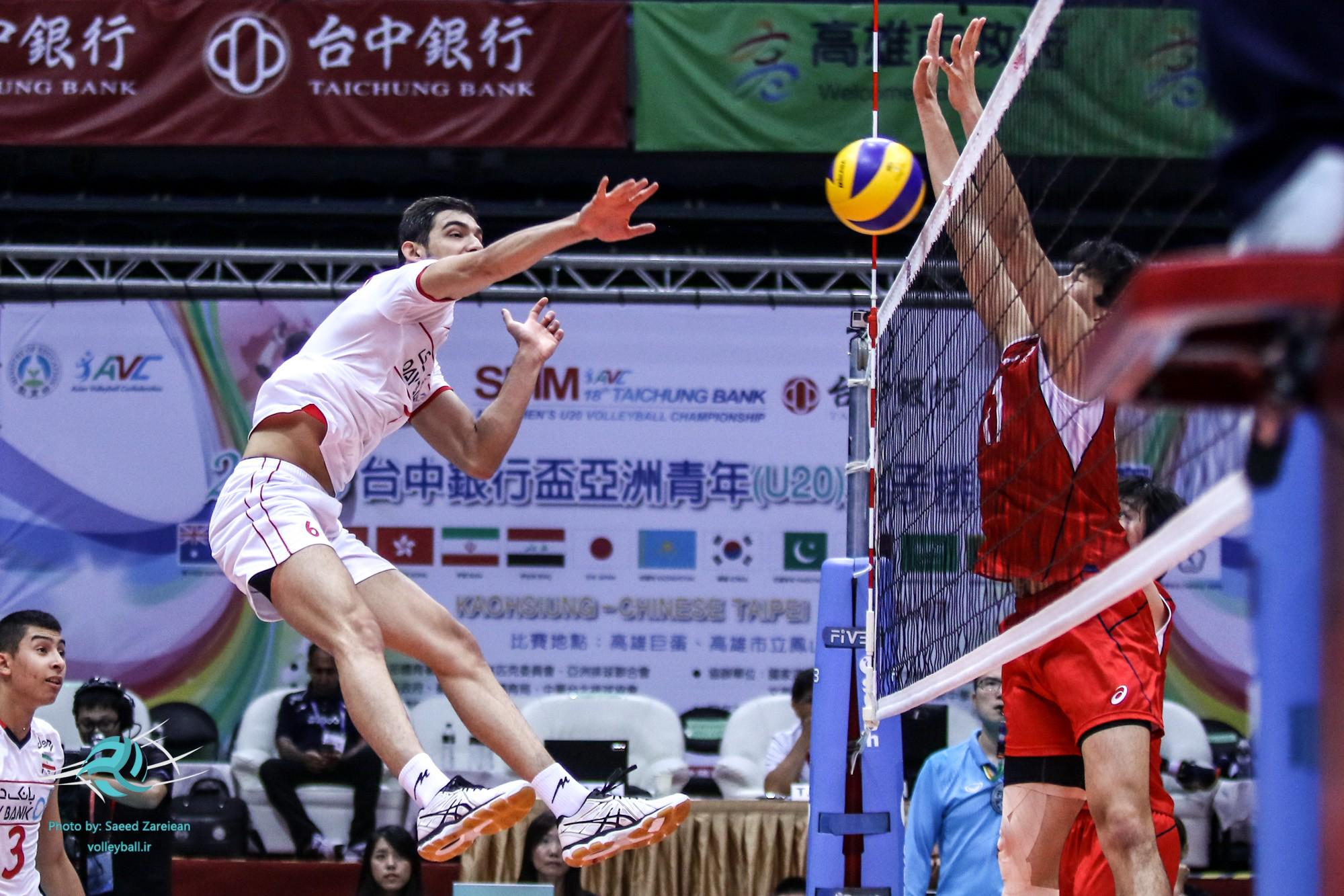 والیبال قهرمانی مردان آسیا-تیم ملی والیبال ایران