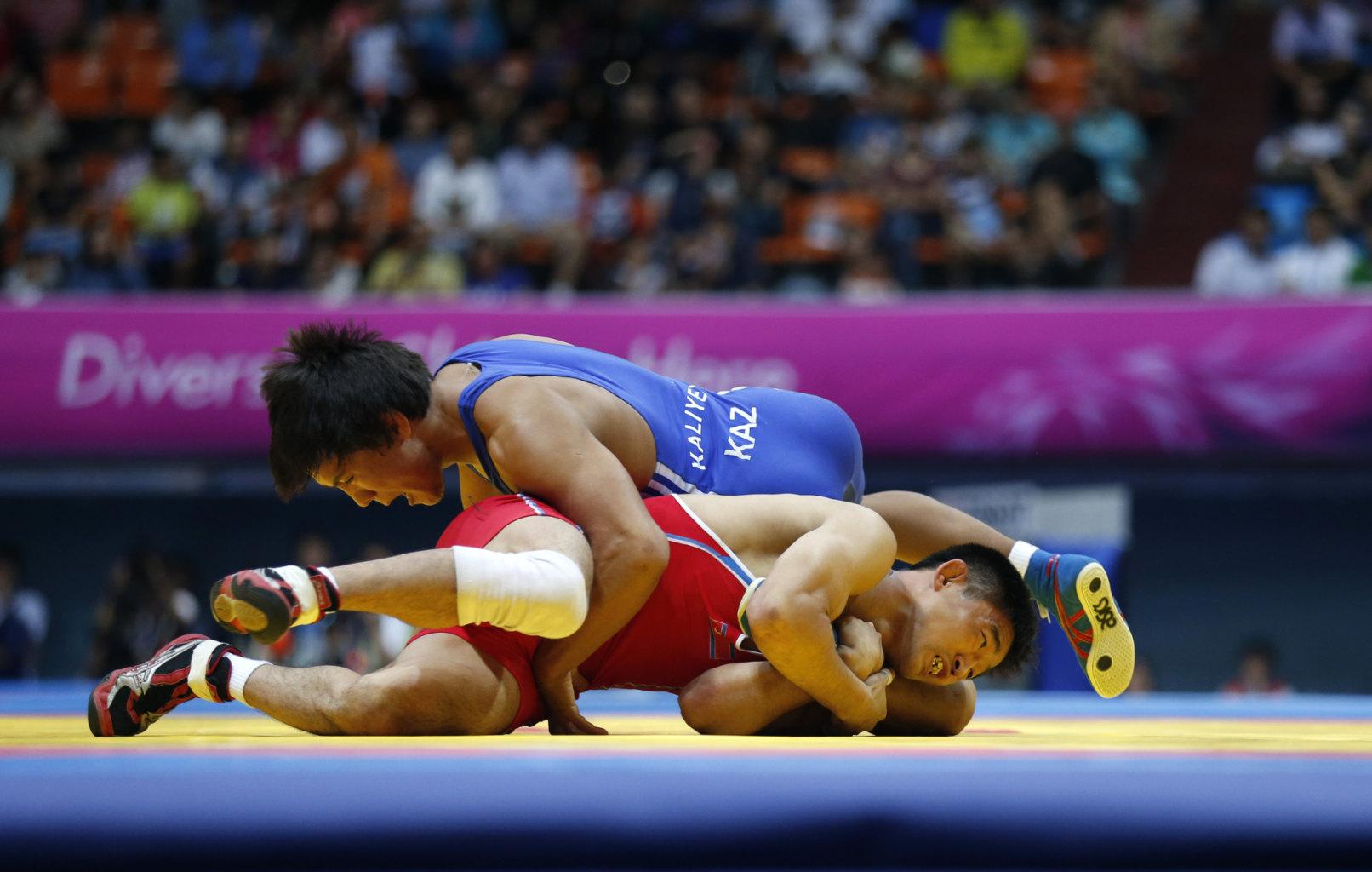 بازی های آسیایی (کشتی): مدال آوران  امروز
