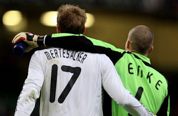 تیم ملی آلمان - سالگرد مرگ روبرت انکه - هانوفر