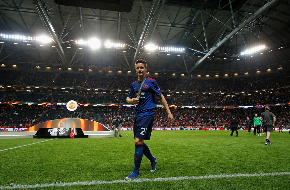 آندر هررا بهترین بازیکن دیدار فینال لیگ اروپا