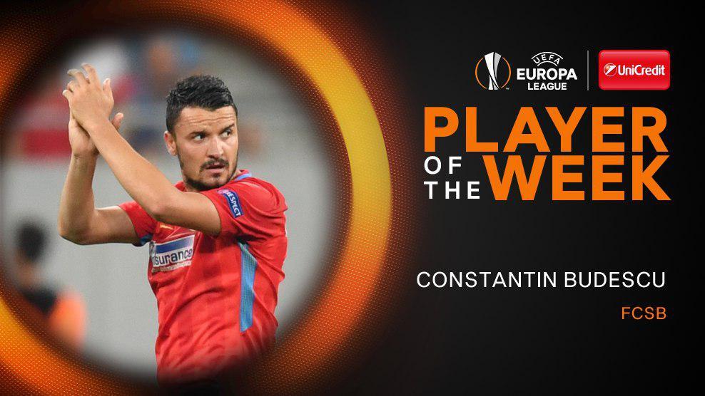 استوا بخارست - بهترین بازیکن لیگ اروپا