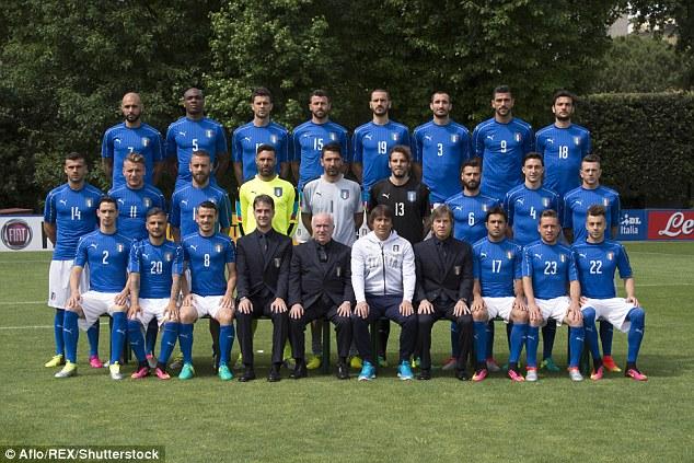 شماره پیراهن بازیکنان تیم ملی ایتالیا برای یورو 2016؛ موتا وارث پیراهن باجو، دل پیرو و توتی