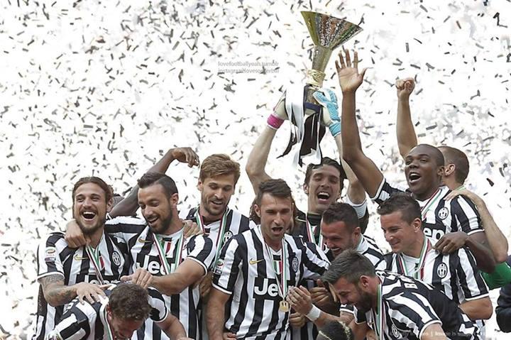 یوونتوس پرافتخارترین تیم تاریخ سری آ