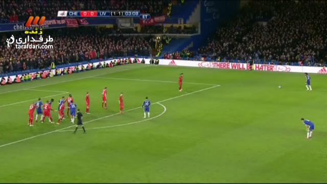 خلاصه بازی چلسی 1-0 لیورپول