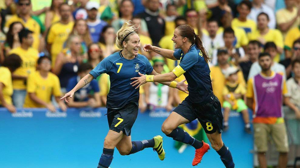 فوتبال بانوان المپیک ریو 2016؛ سوئد با دفاع اتوبوسی به فینال رسید
