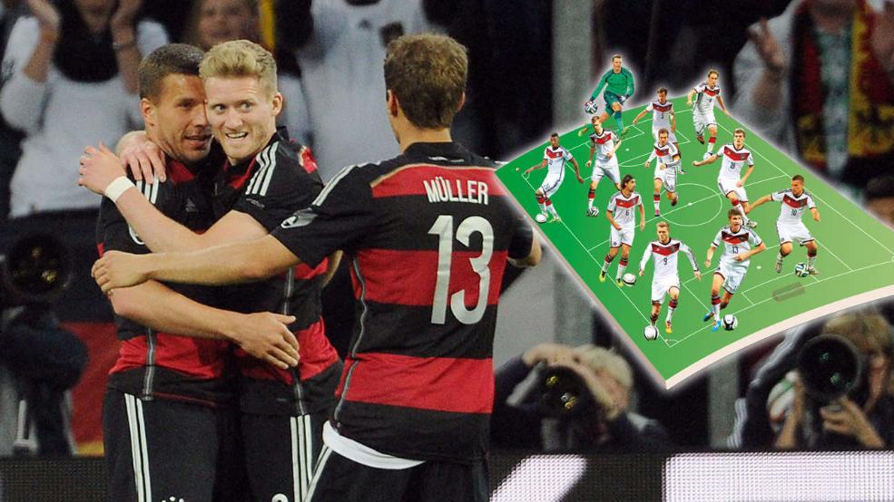 ترکیب احتمالی آلمان برای بازی مقابل پرتغال؛ اوزیل روی نیمکت