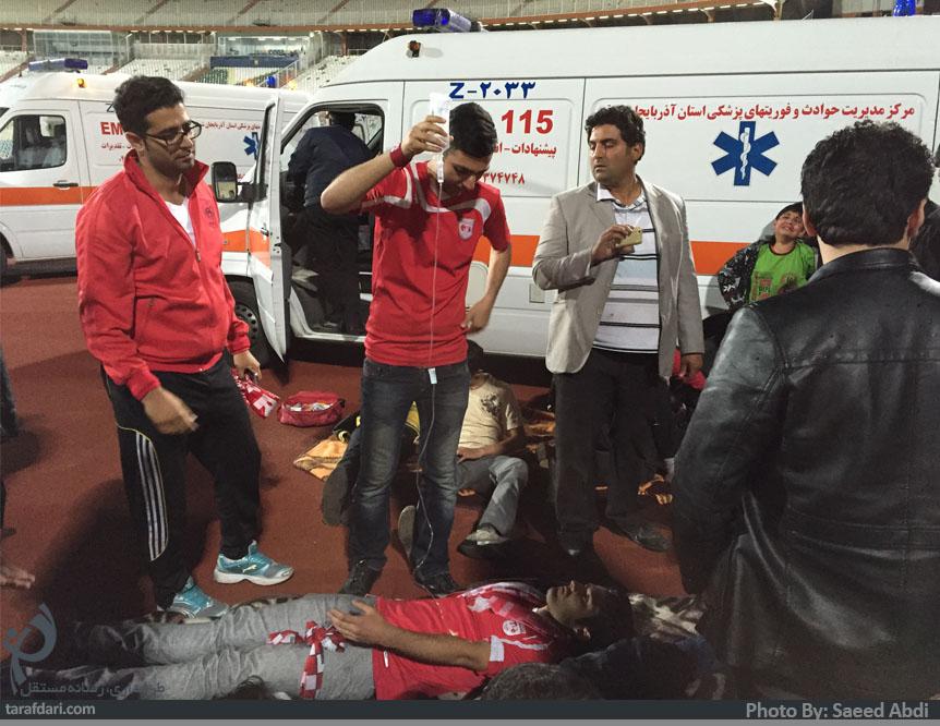 بیانیه کانون هواداران باشگاه تراکتورسازی؛ چه کسی پاسخگوی خانواده هوادار فوت شده است؟